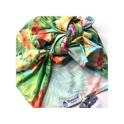 Turbante cubano floral