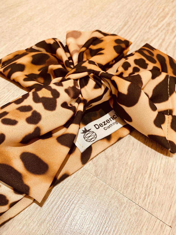 Turbante leopardo