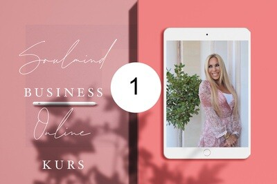 BLISSFUL SOUL MIRACLES 3 - BUSINESS MARKETING Kurs in 4 Modulen / Modul 1