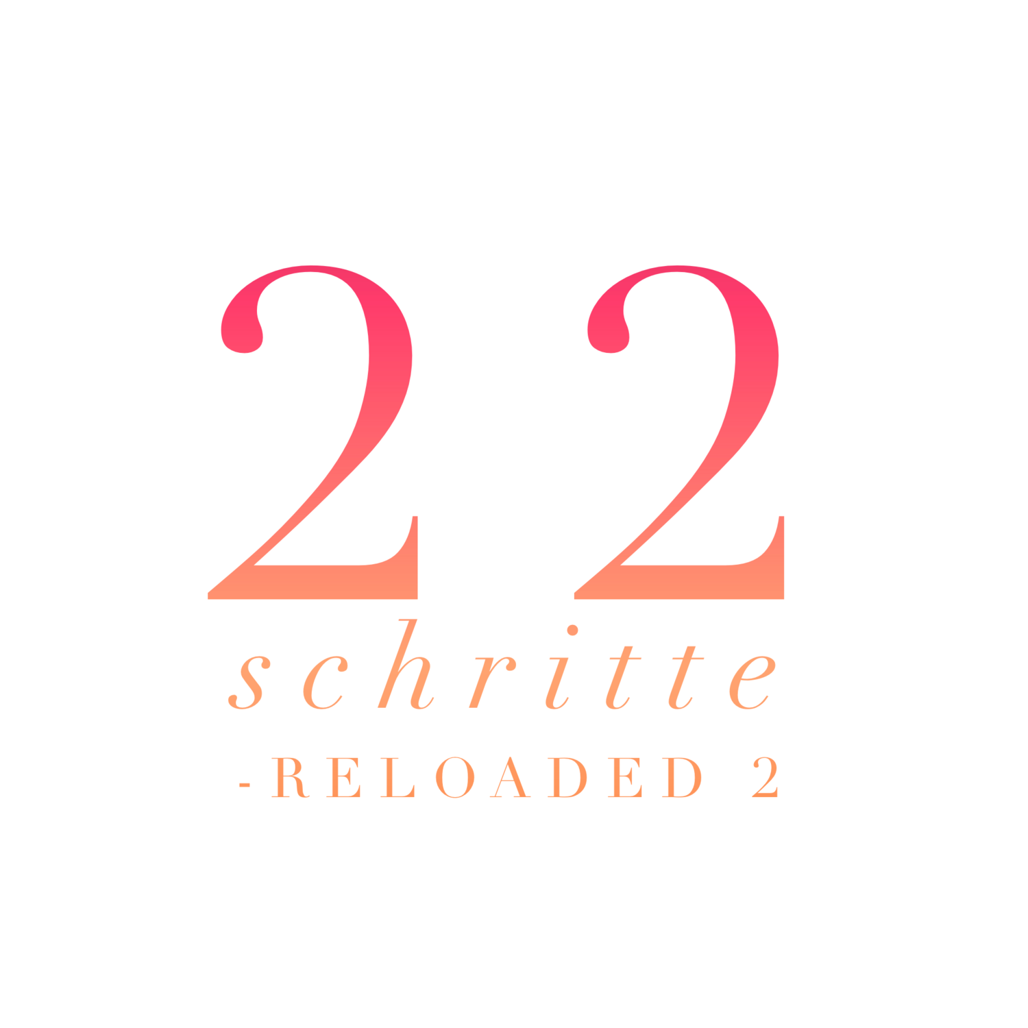 22 Steps reloaded Schritt 2