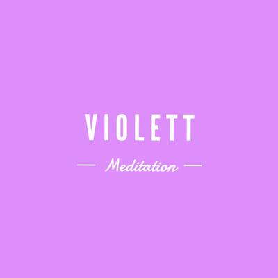 Meditation Violett