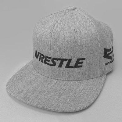 WRESTLE Snapback Hat - Gray Heather