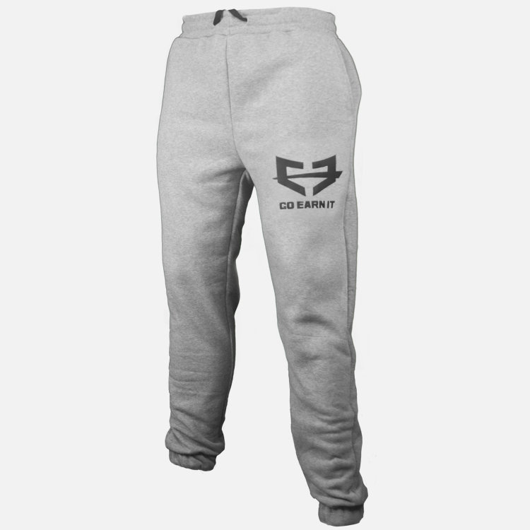 GRAY GO EARN IT JOGGERS 01-005-002-00102-**-Joggers-Gry-