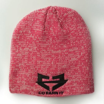 ARCTIC BEANIE - Marble Pink