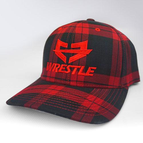 WRESTLE PLAID Series Red 04-001-000-00121-**-WRESTLE_RedPlaid