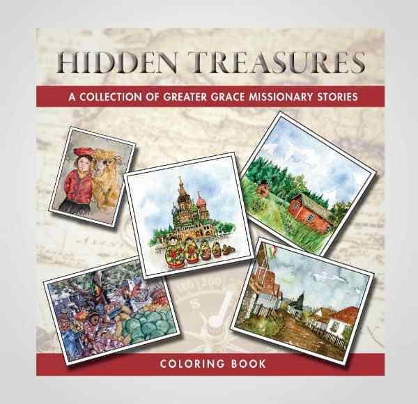 Hidden Treasures – Coloring Book 103