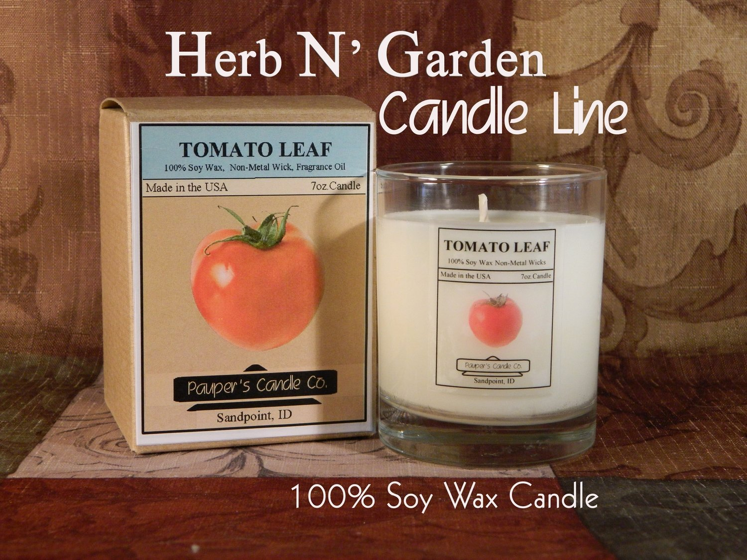 Enjoy Our Herb N' Garden Soy Candles