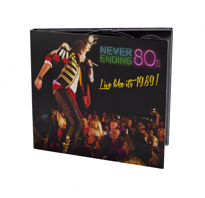 'Live Like It's 1989!' CD