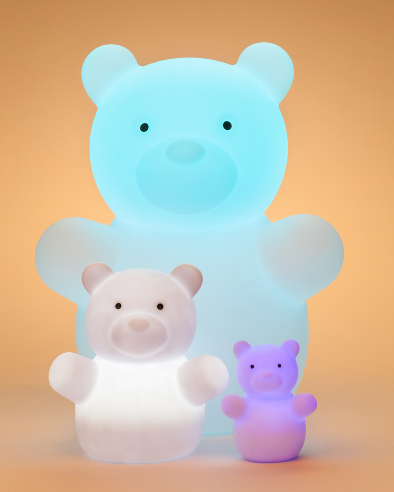 KinderGlo Bear Family