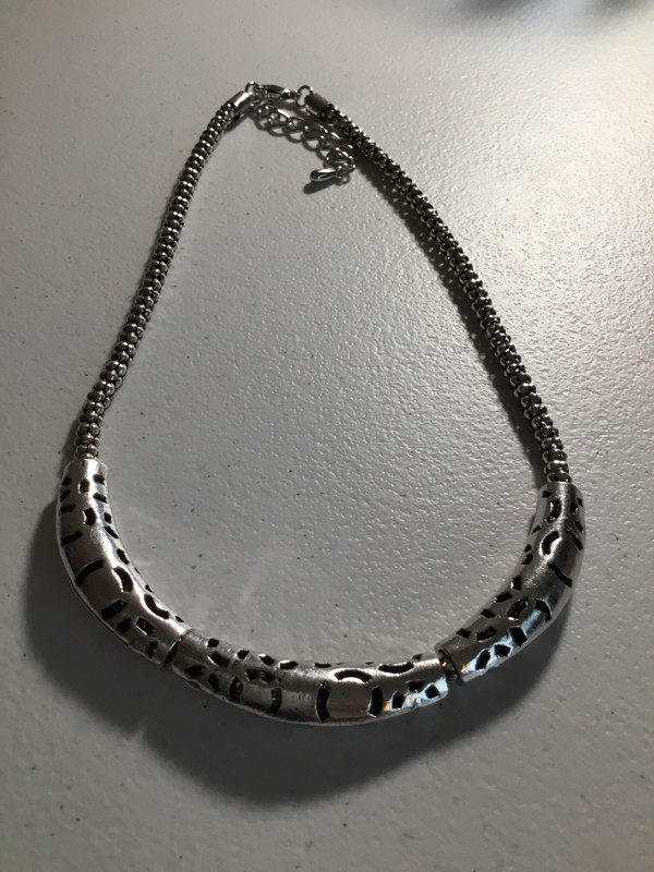 Antique with Pattern Necklace