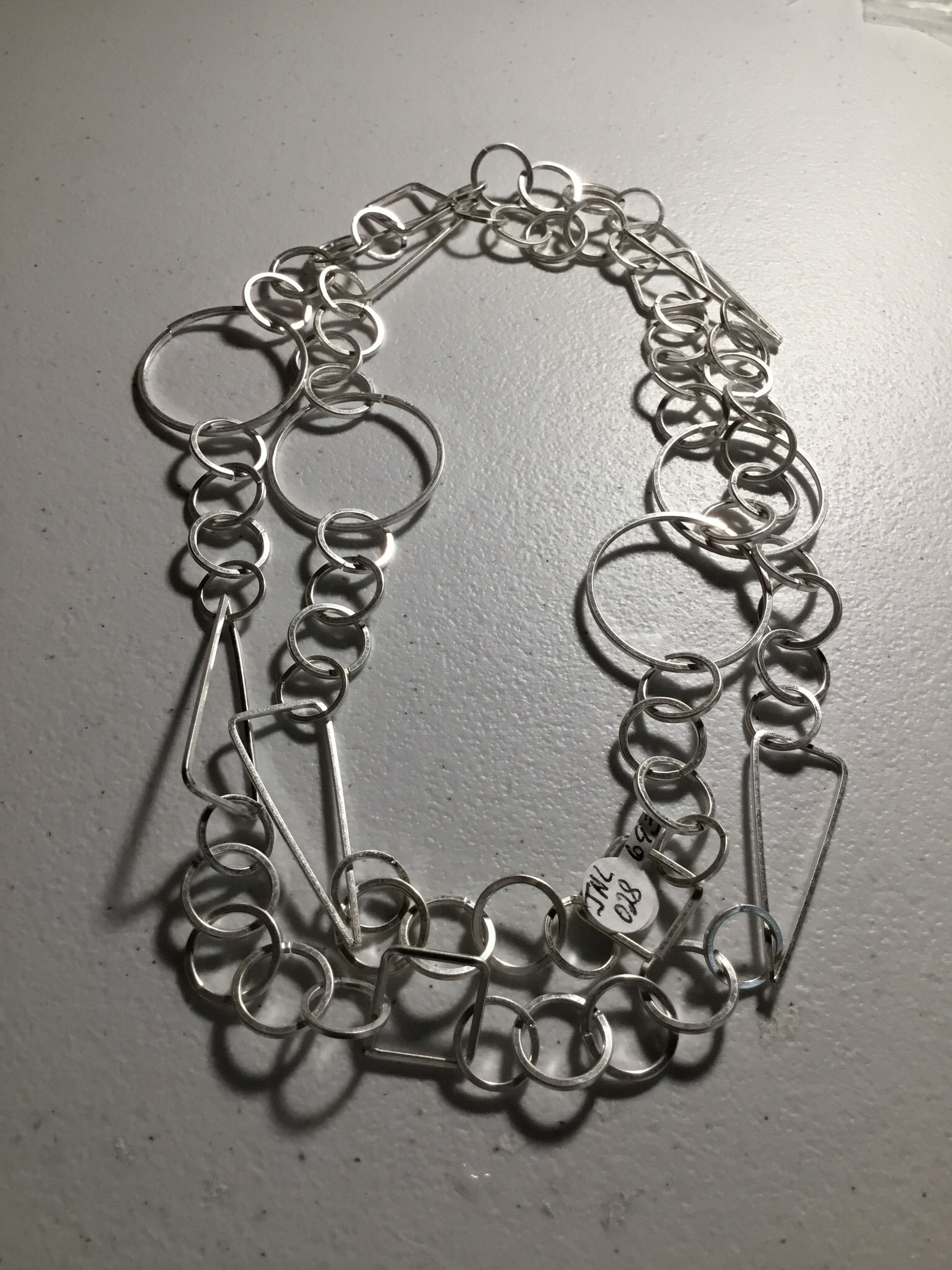 Silver Color Different Shapes and Loops JNL-028-6935