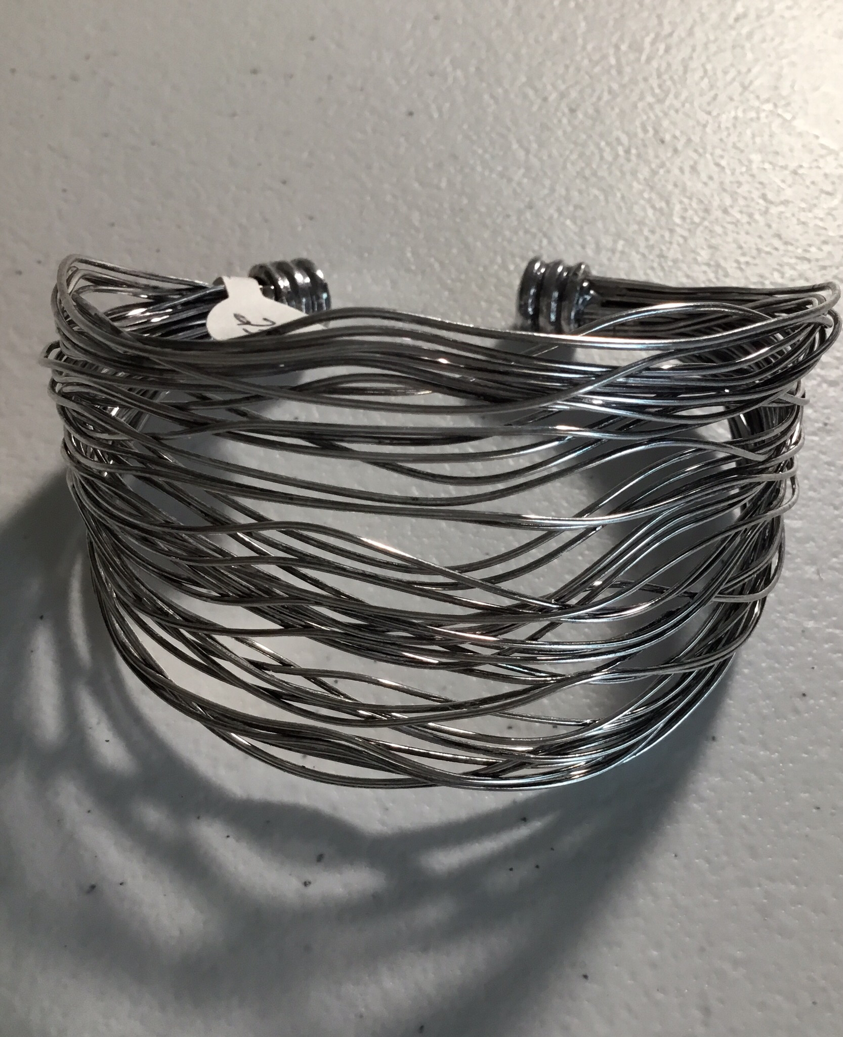 Silver Wire Cuff JBR-023-6324