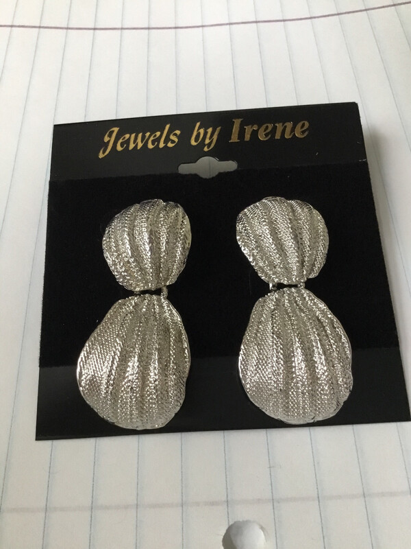 Silver Robed Earrings