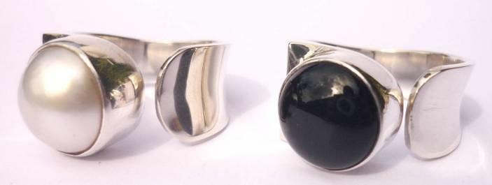 Mabe Pearl Designer Ring