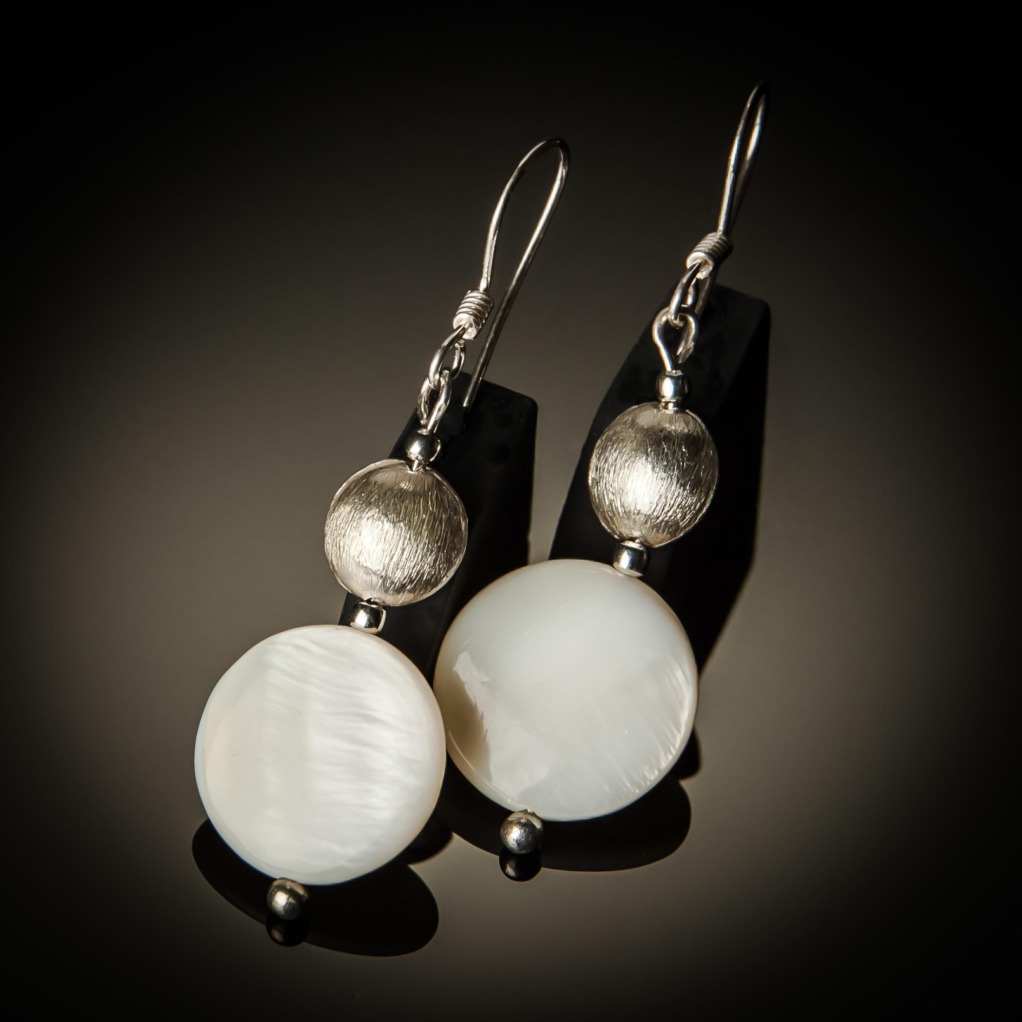 Jinja Earrings 658-B-ER-Mop