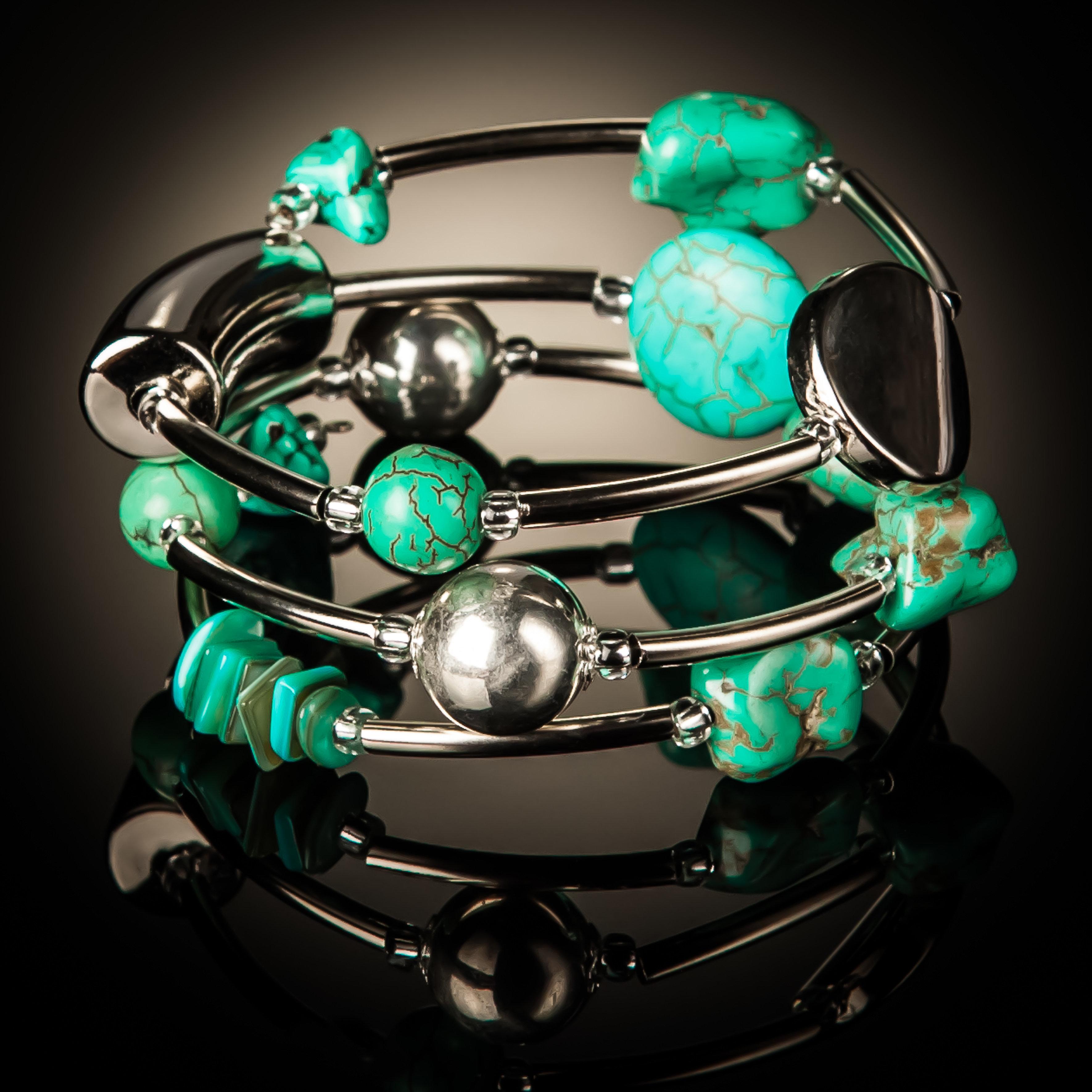 Turquoise Twist Bracelet 626