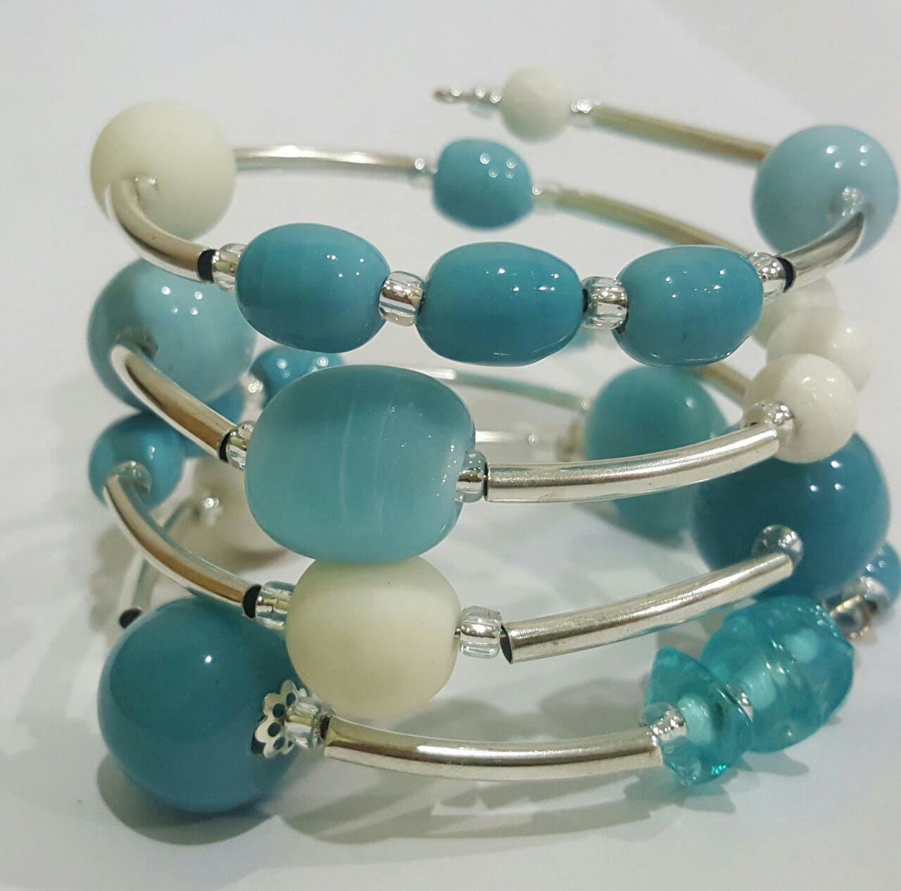 UNC Chapel Hill Twist Bracelet 1304