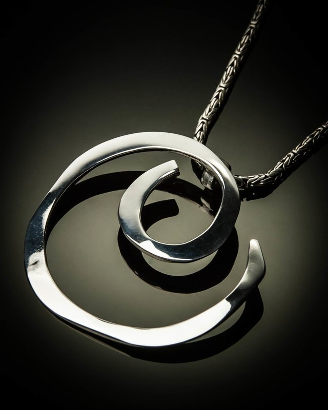 Sterling Silver Circle of Life Pendnt