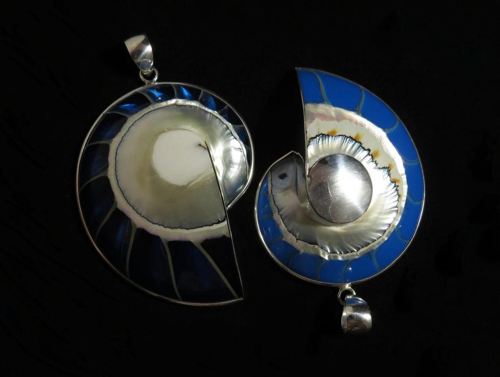 Nautilus Shell Pendant P-LEO-2894