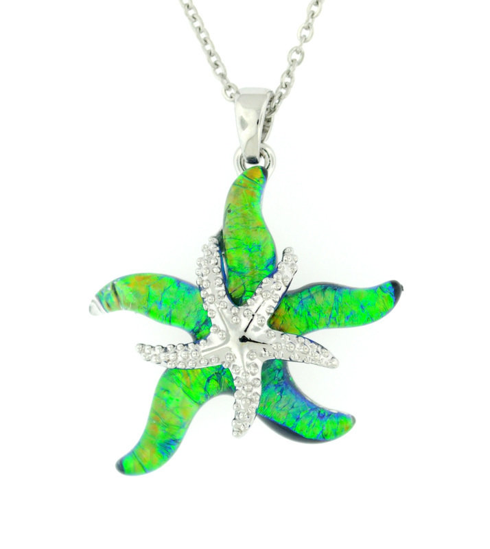 Wish on a Starfish Pendant STP-113