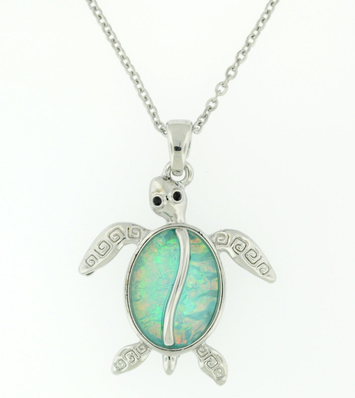 Under the Sea turtle Necklace STP-M61