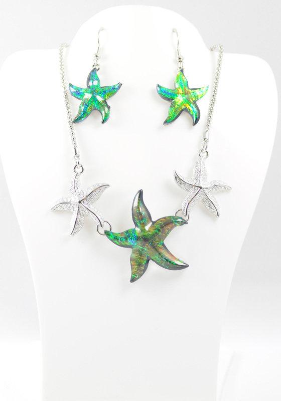 Green/Blue Starfish Set