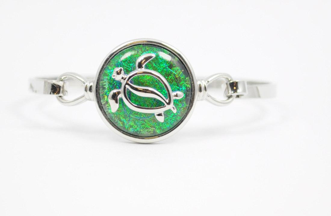Green/Blue Sea Turtle Bracelet