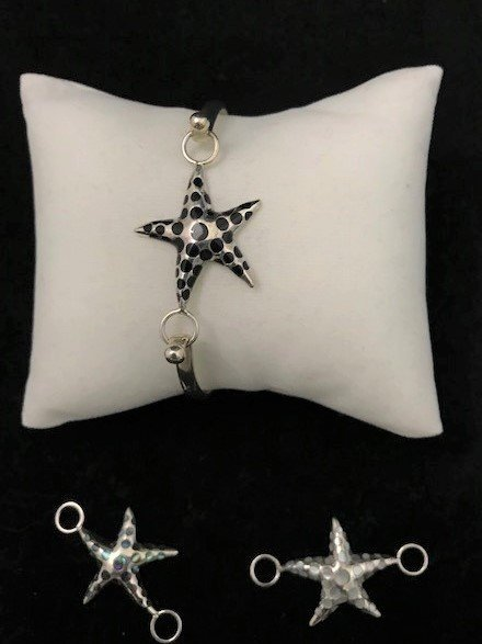 Sterling Silver Starfish Topper