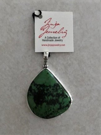 Turquoise Natural Green Large Pendant APD-1 Turquoise