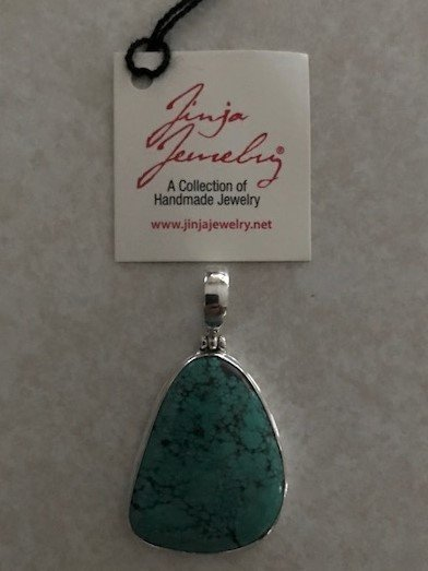 Turquoise Natural Clean Blue Pendant APD-4 Turquoies