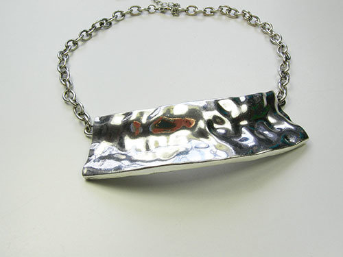 Metal Necklace with LG Pendant JNL-028-6492