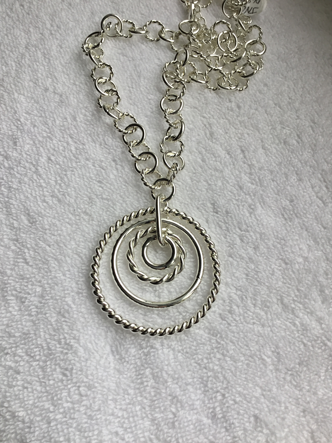 Ring Frenzy Necklace