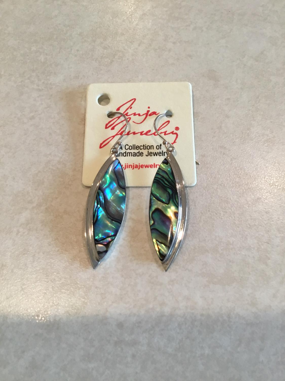 Abalone Handmade SS EARRINGS