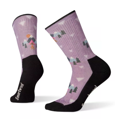 Smartwool Women's Light Under The Stars Print Hiking Crew Socks