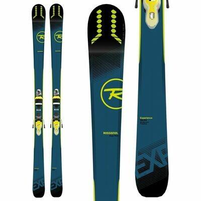 ROSSIGNOL Men's Experience 76 Ci Skis + Xpress 11 B83 Bindings