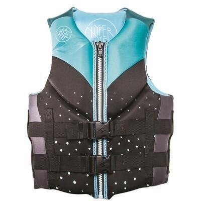 Hyperlite Women's Indy Neoprene Life Jacket - Aqua