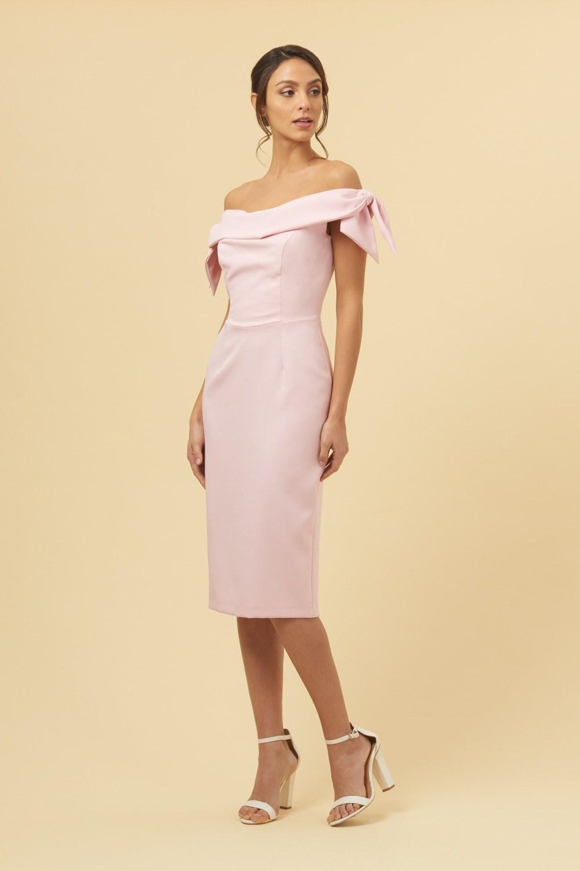 afe8b81daa6 Tilly Dress Off the Shoulder Pale Pink Dress PDCDRTILLYPPINK