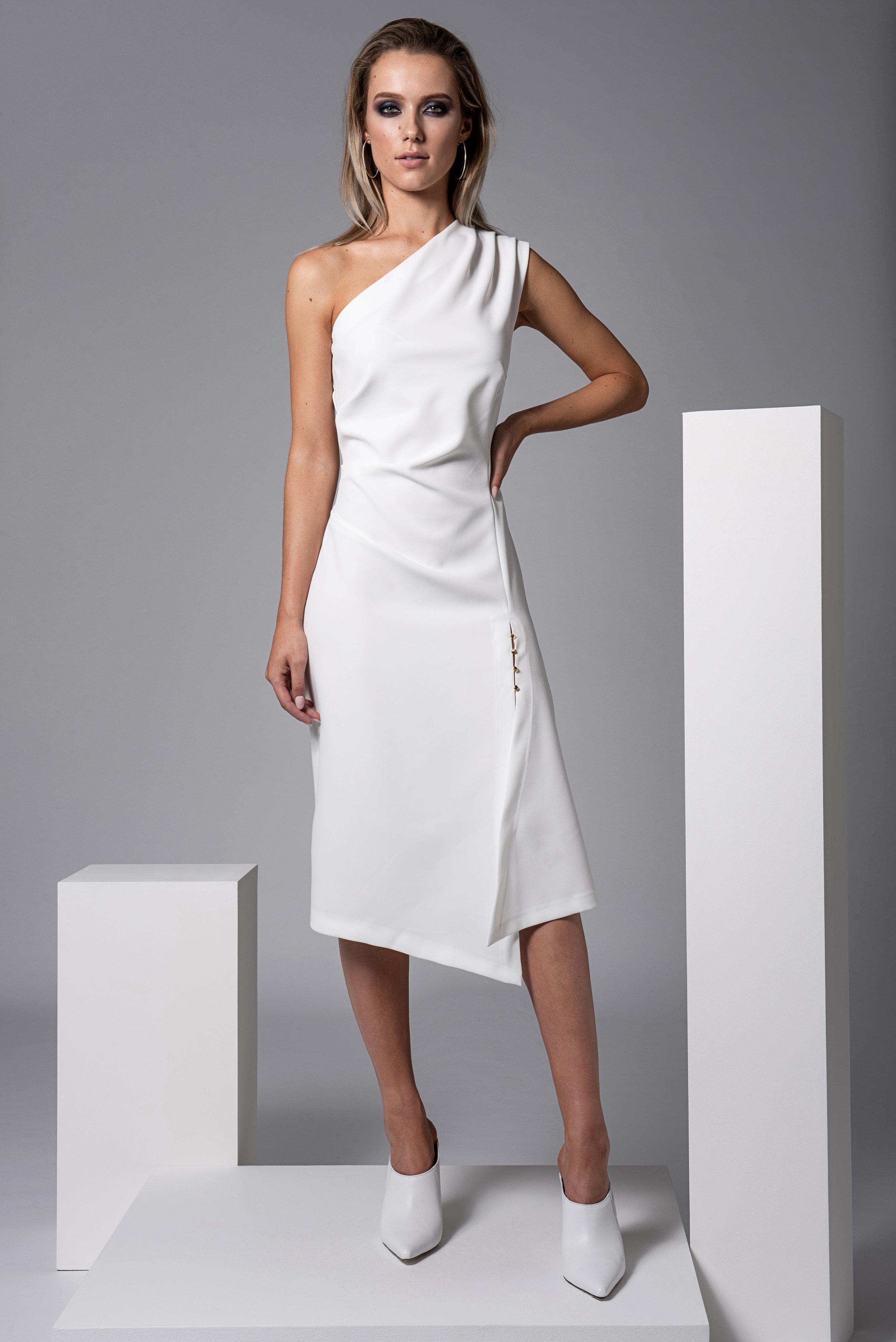 Turner Dress White CKDRTURNERWHITE