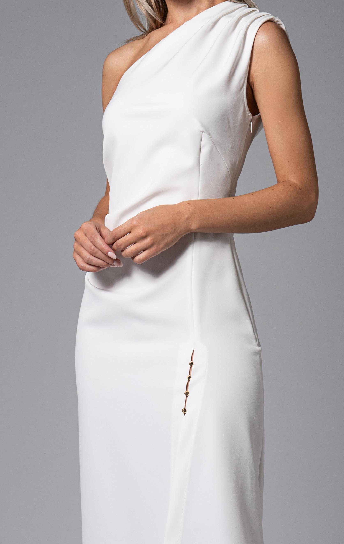 Turner Dress White