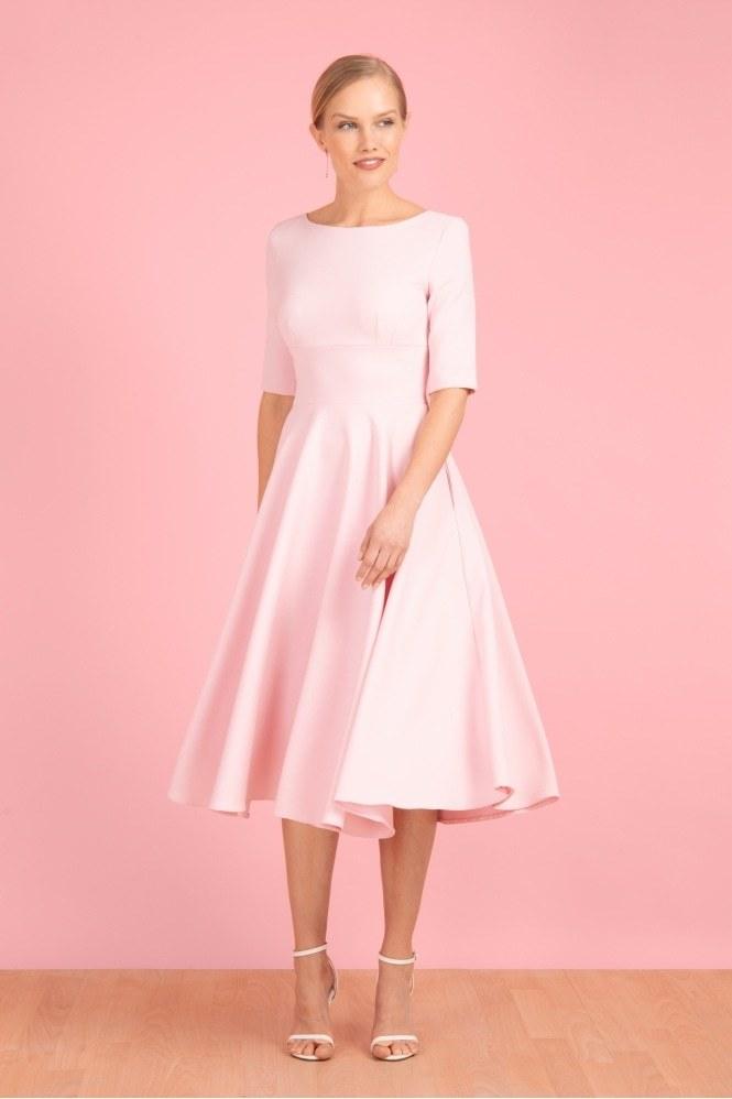 Hepburn Swing Dress Pink PDCDRHEP