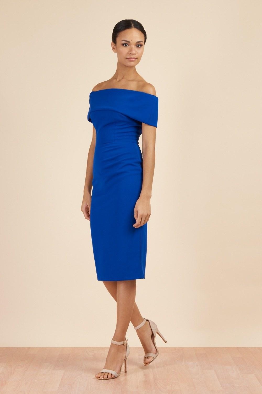 Dani Bardot Dress Cobalt PDCDRDANICOBALT