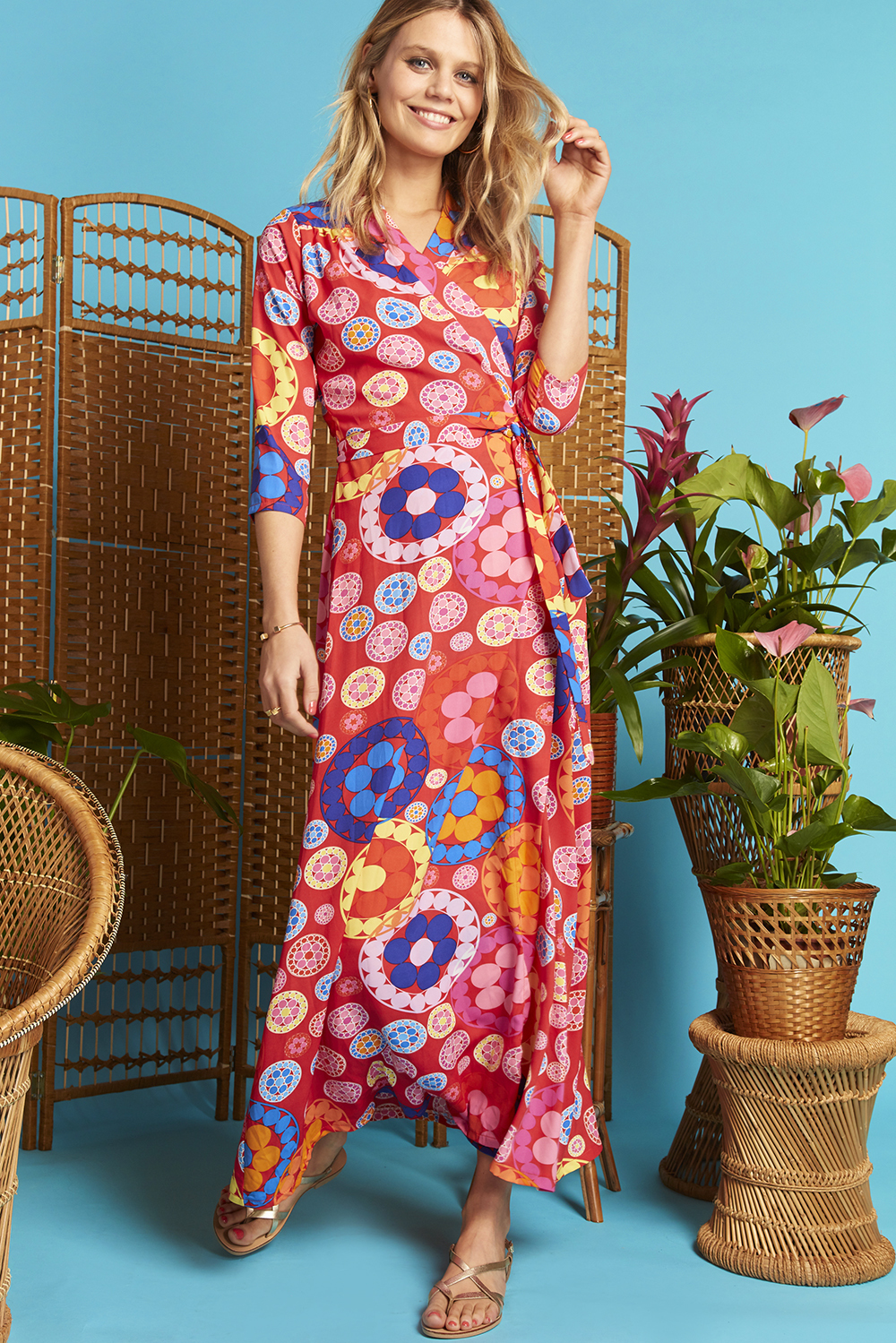 Marisa Maxi Dress Daisy ONJDRMARISA
