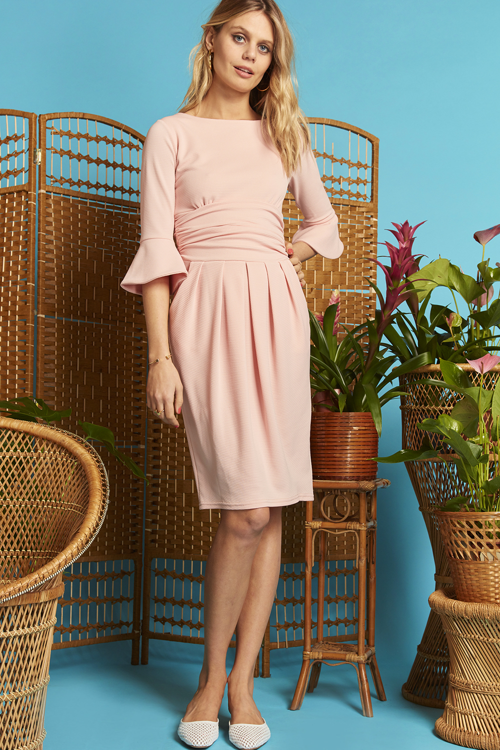 Tammy Dress Blush Pink ONJDRTAMMY