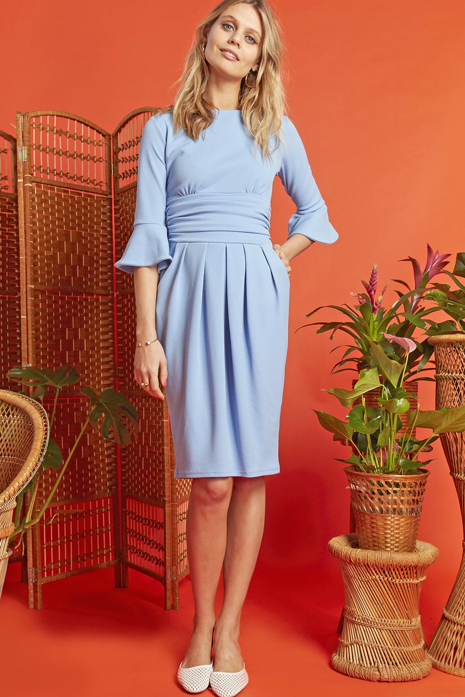 Tammy Dress Powder Blue