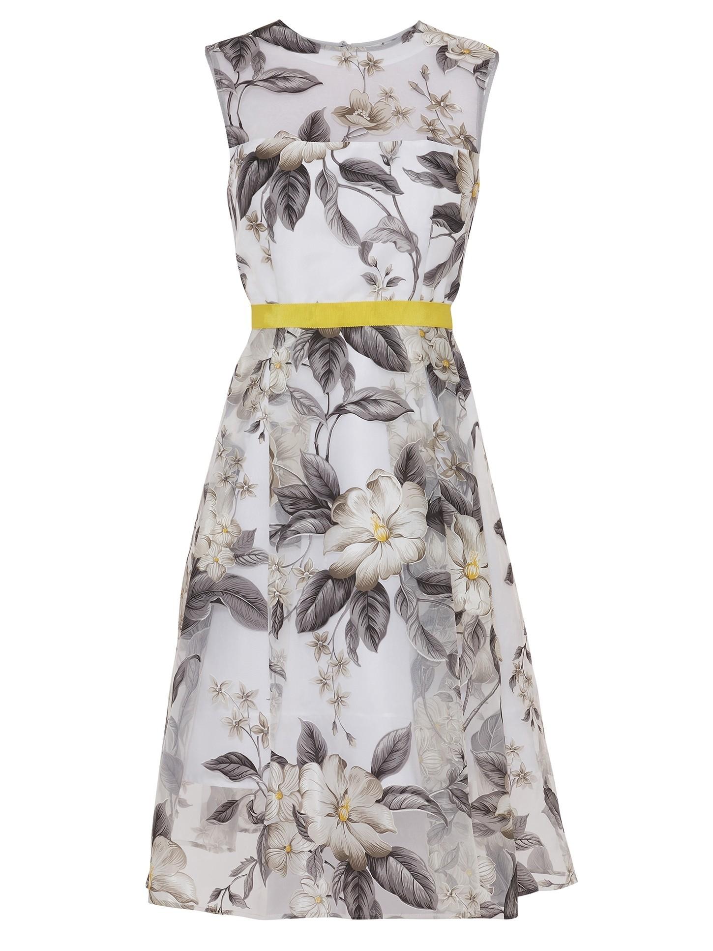 Fiora Floral Organza Dress