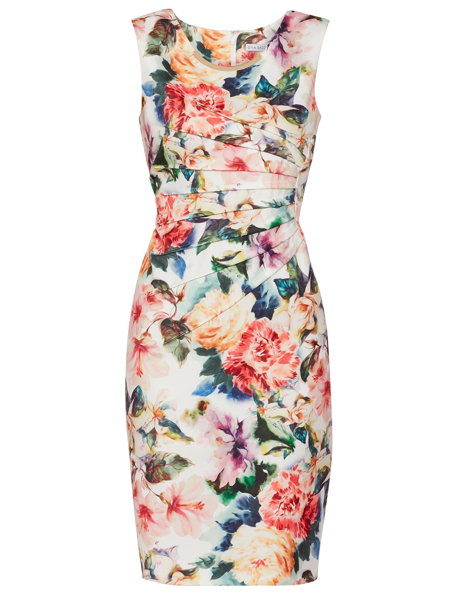 Vitina Floral Scuba Dress
