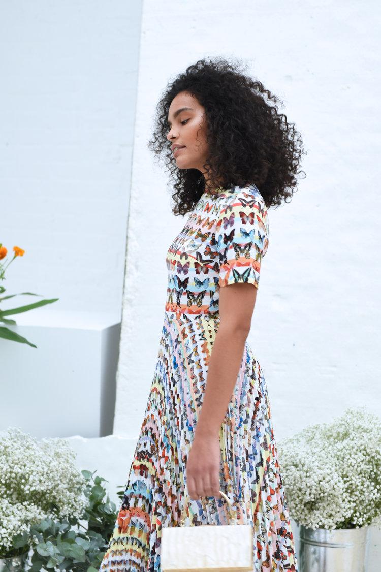 Vogue Dress in Butterfly Print SKEENASDRVOGUE