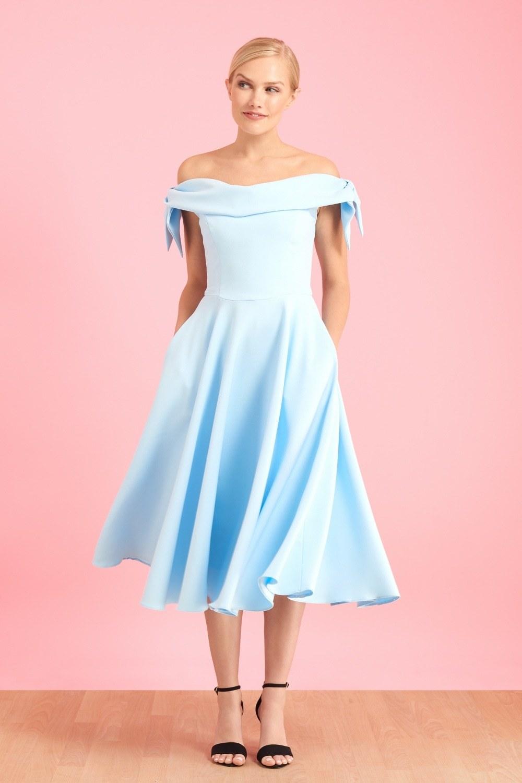 Tilly Prom Dress in Pale Blue PDCDRTILPBLUE