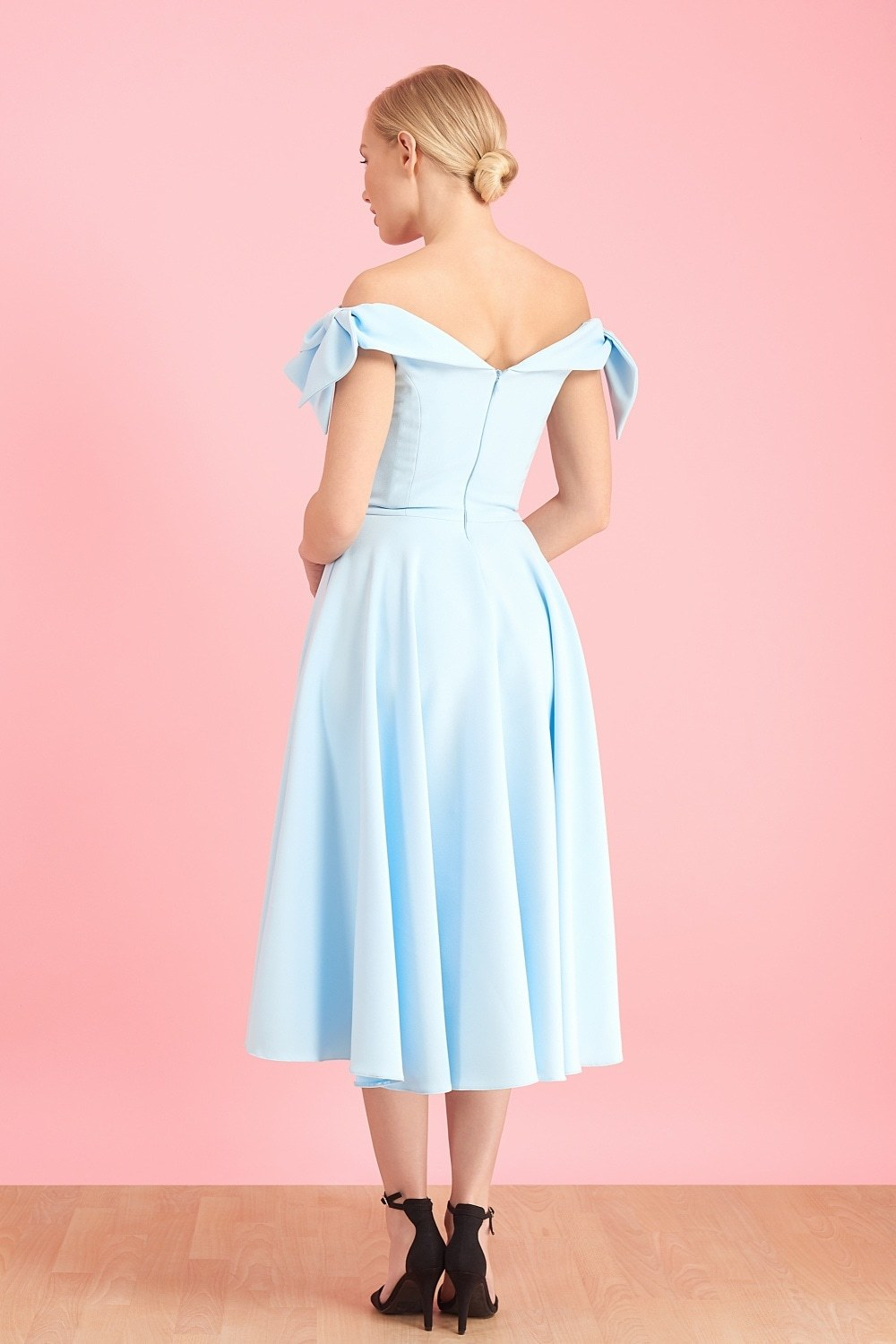 Tilly Prom Dress in Pale Blue
