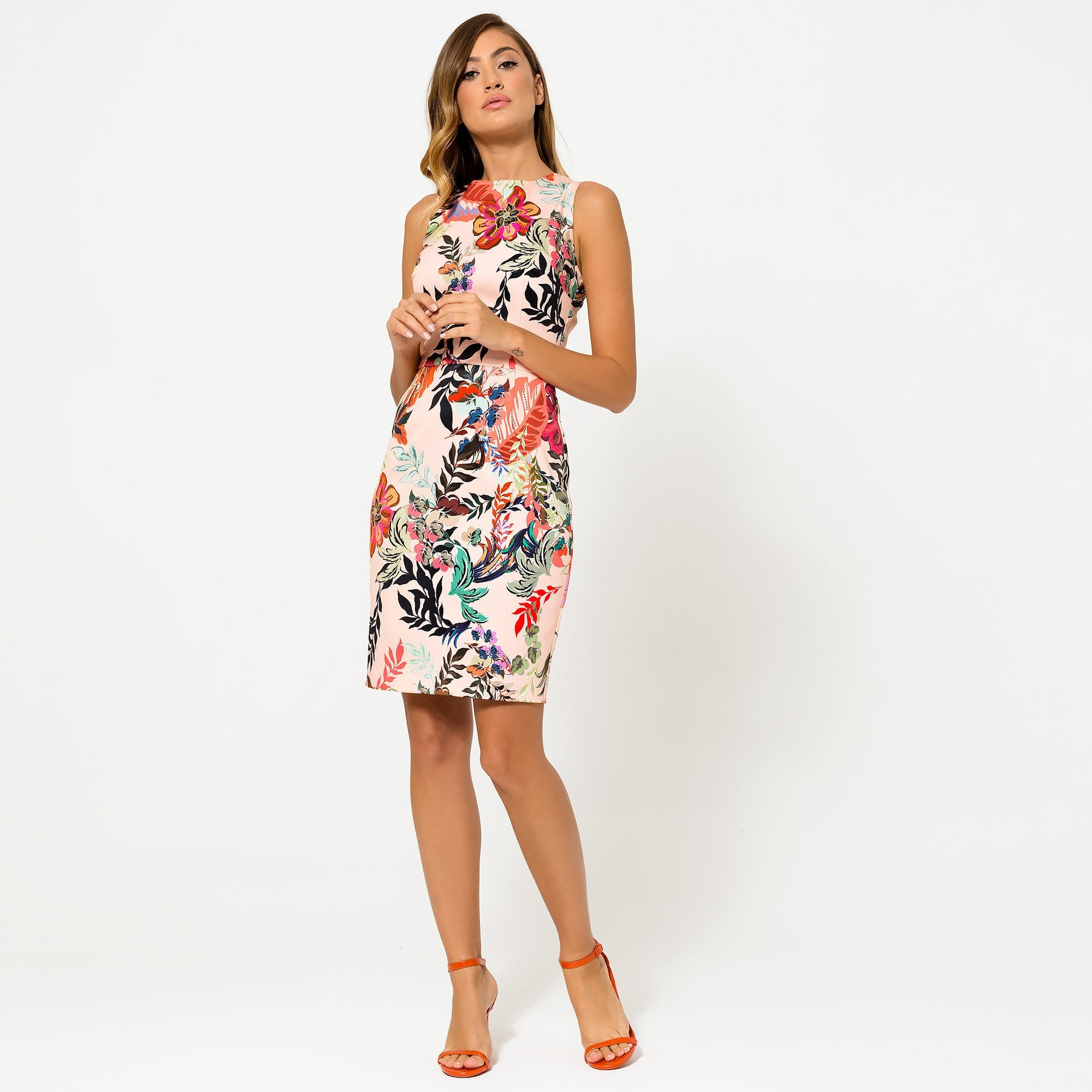 Floral Mini Dress ACCDRFLOR3003